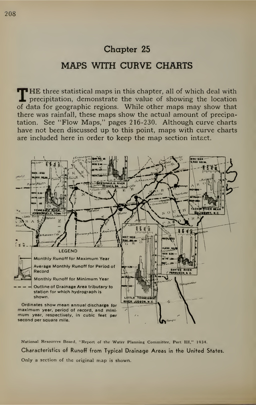 208 Chapter 25 MAPS WITH CURVE CHARTS THE three...