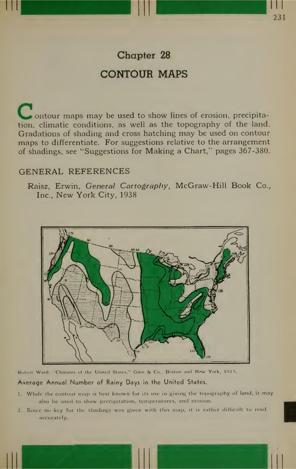 231 Chapter 28 CONTOUR MAPS _ ontour maps may b...