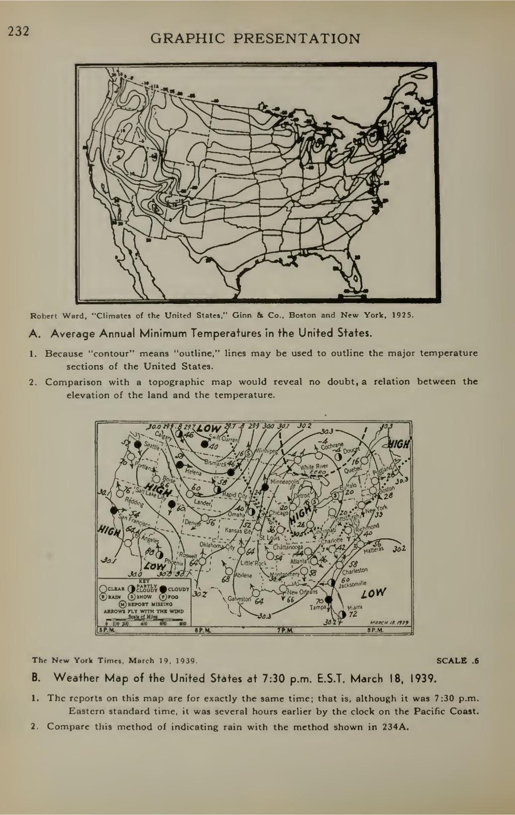 "232 GRAPHIC PRESENTATION Robert Ward. ""Climates..."