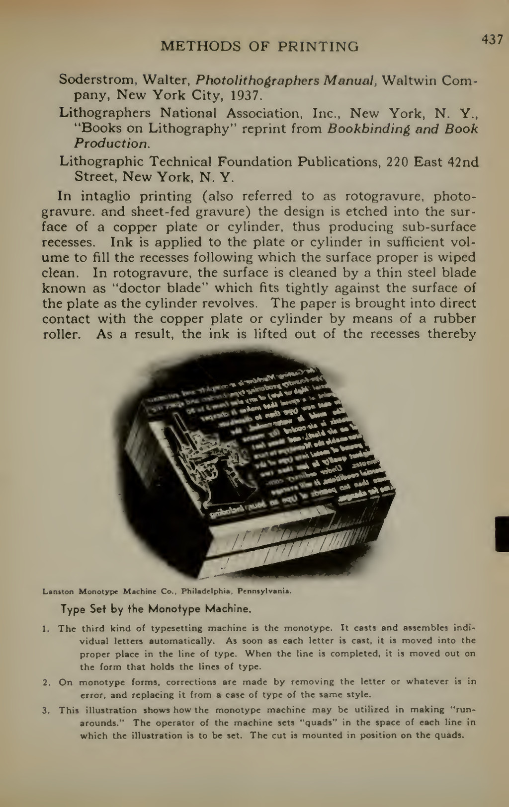 METHODS OF PRINTING '^^^ Soderstrom, Walter, Ph...