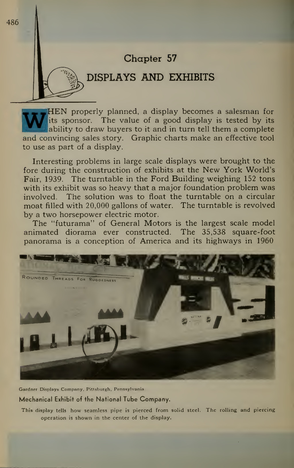 486 'V'f.\ Chapter 57 DISPLAYS AND EXHIBITS fc—...
