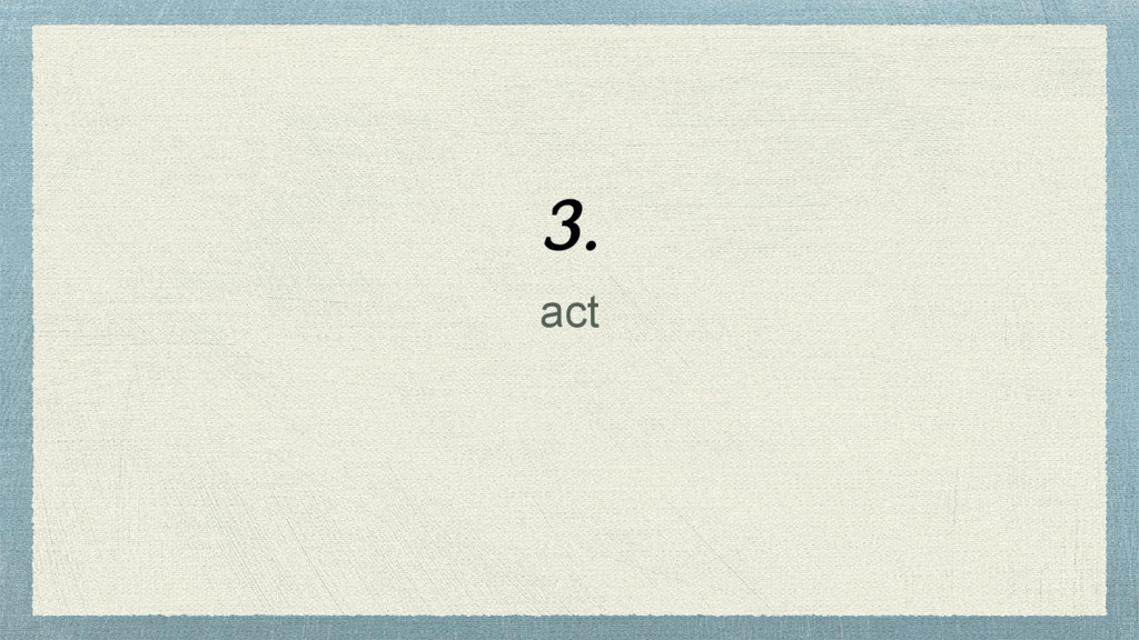 act 3.