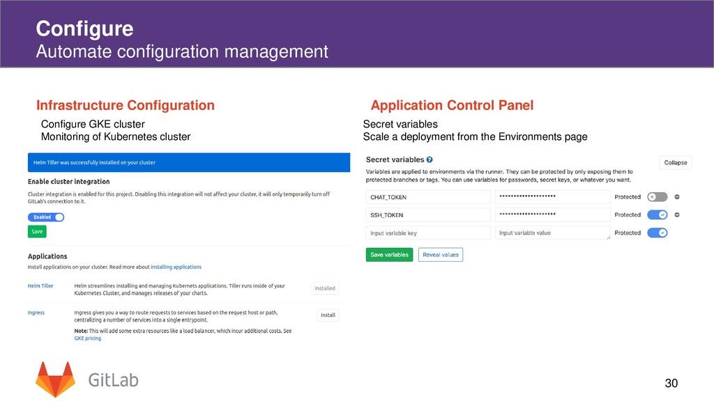 30 Configure Automate configuration management ...