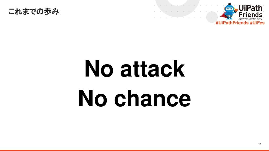 12 #UiPathFriends #UiFes No attack No chance これ...