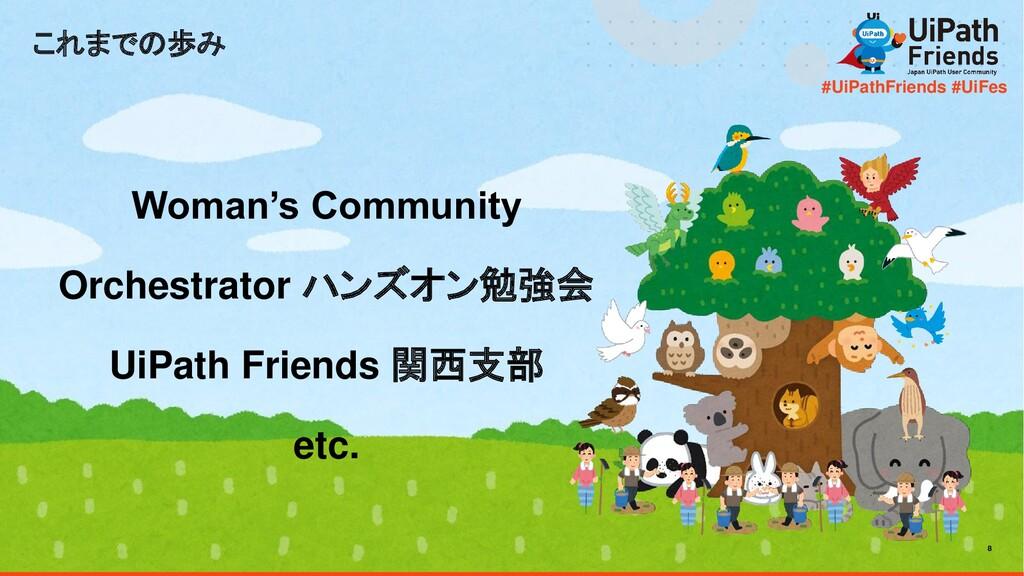 8 #UiPathFriends #UiFes これまでの歩み Woman's Communi...