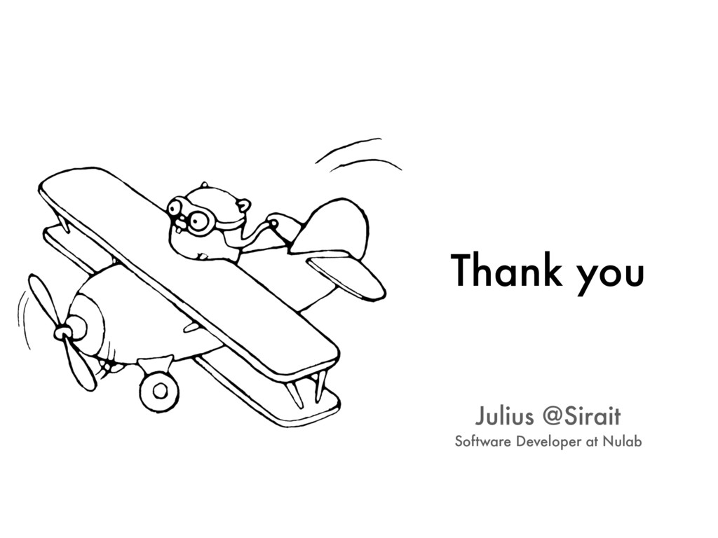 Thank you Julius @Sirait Software Developer at ...