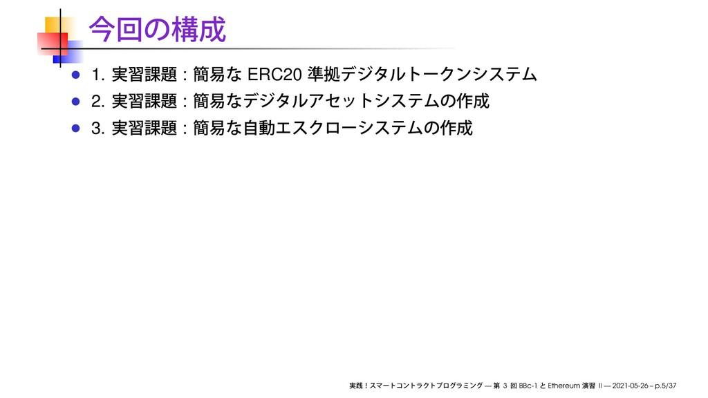 1. : ERC20 2. : 3. : — 3 BBc-1 Ethereum II — 20...