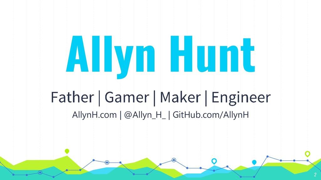 Allyn Hunt AllynH.com | @Allyn_H_ | GitHub.com/...