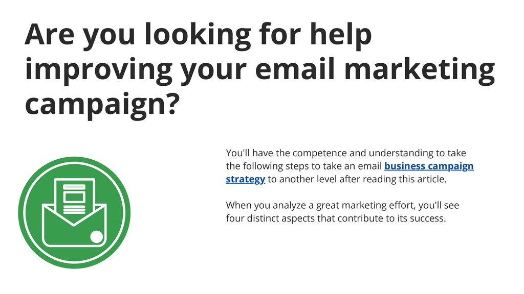 Are you looking for help improving your email m...