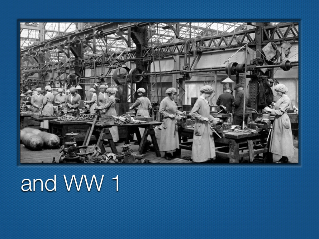 and WW 1