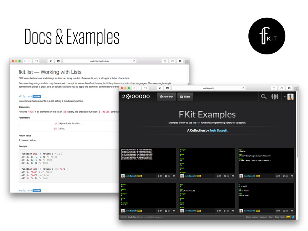 Docs & Examples