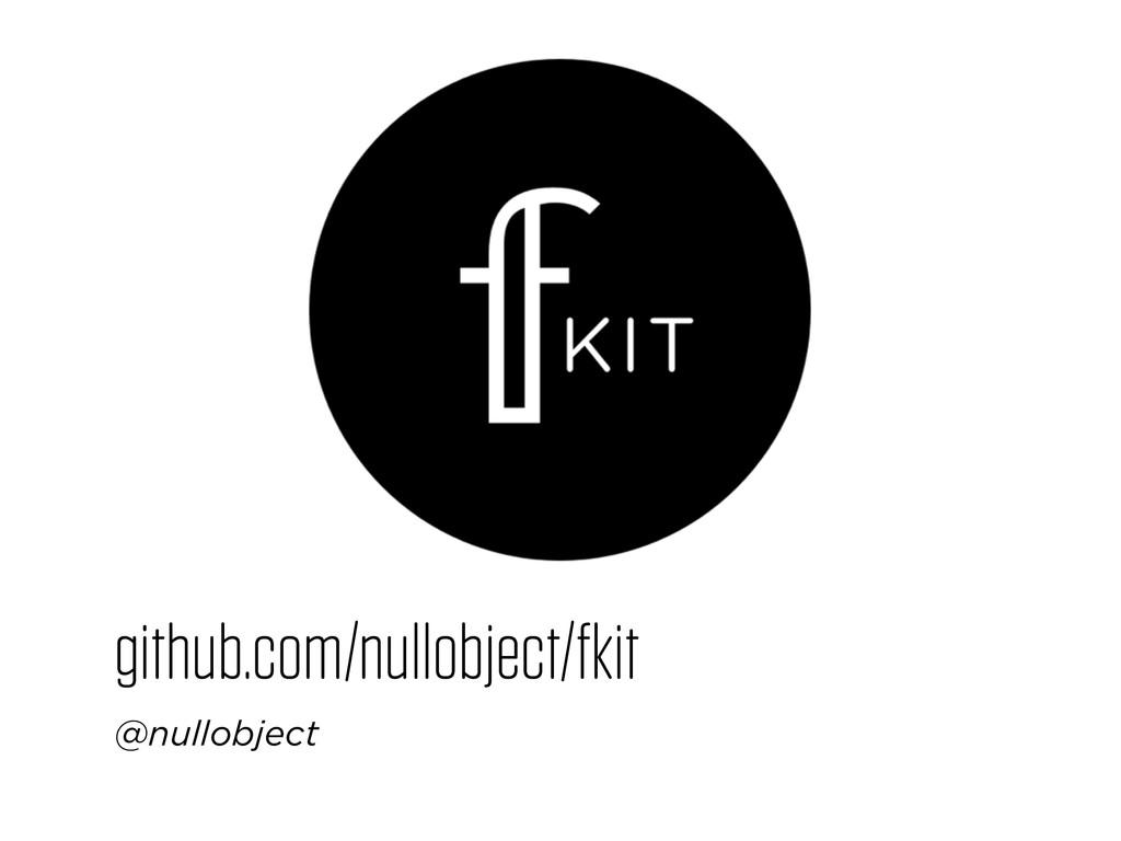 github.com/nullobject/fkit @nullobject