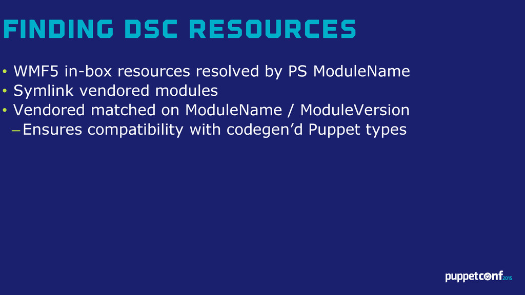 v • WMF5 in-box resources resolved by PS Module...