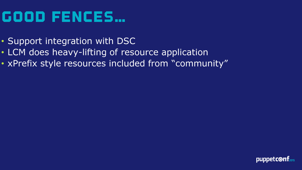 v • Support integration with DSC • LCM does hea...