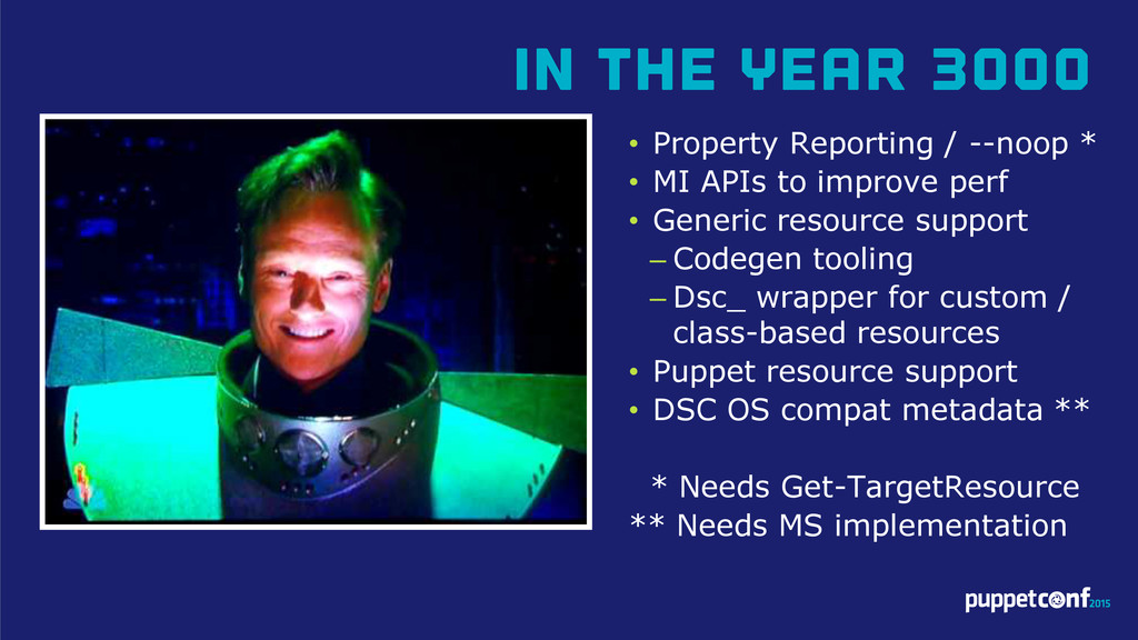 In The Year 3000 • Property Reporting / --noop ...