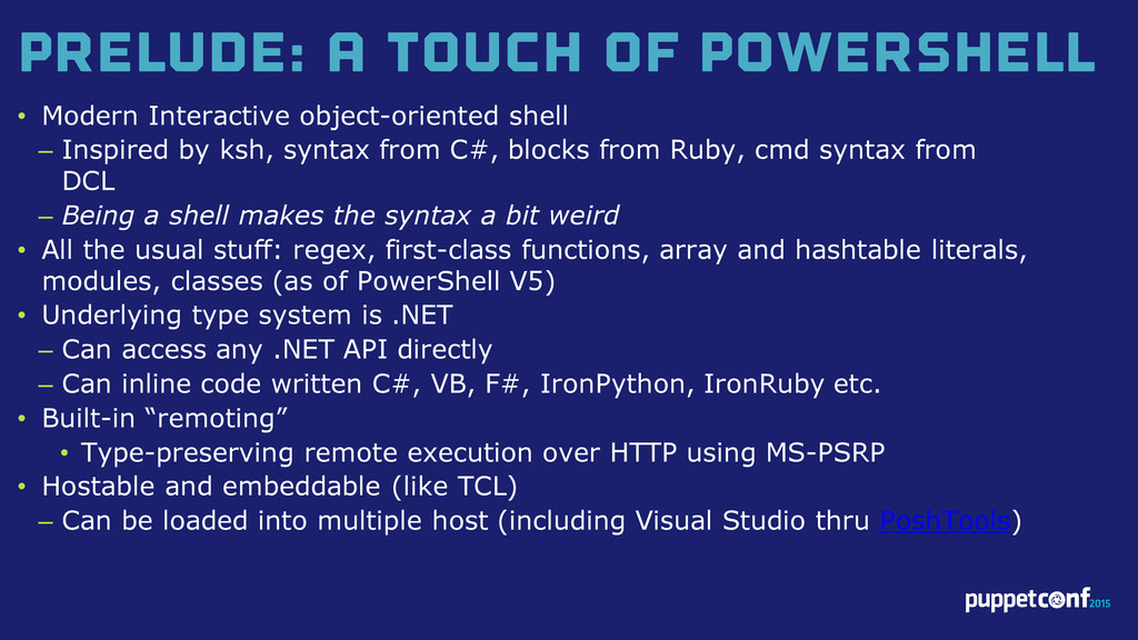 v Prelude: A Touch of PowerShell • Modern Inter...