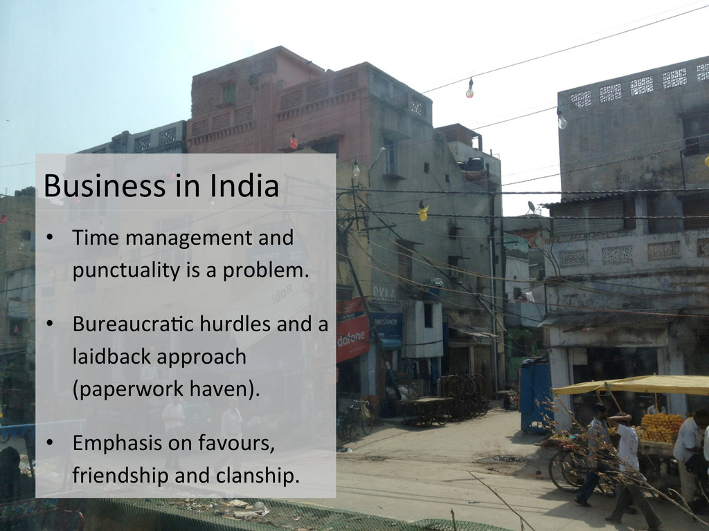 Business in India   • Time mana...