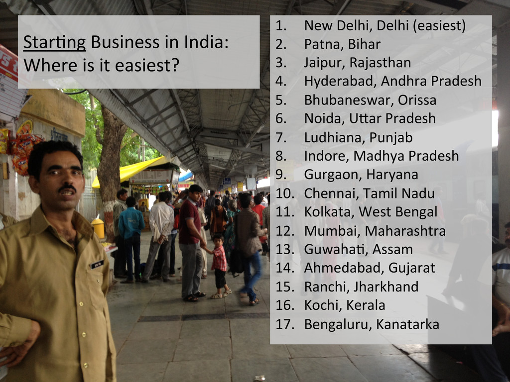 StarEng Business in India:  Where...