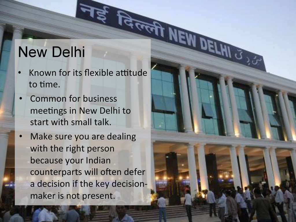 New Delhi • Known for its flexible ...