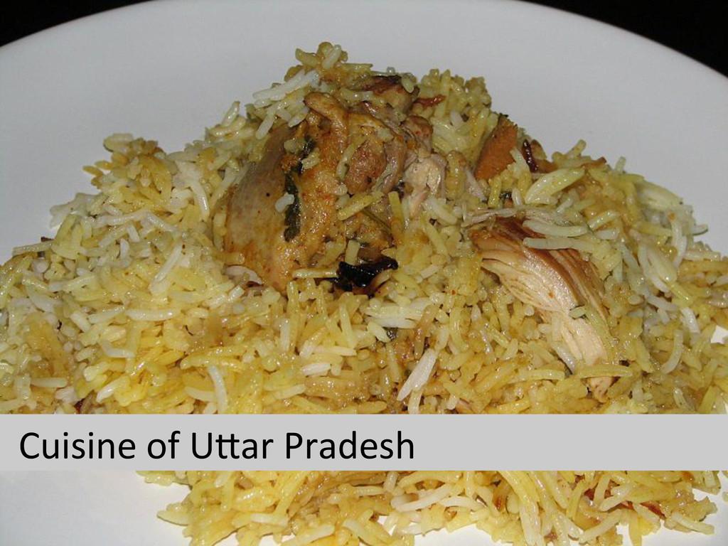 Cuisine of UVar Pradesh