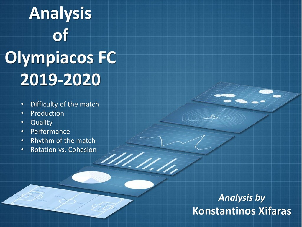 Analysis of Olympiacos FC 2019-2020 Analysis by...