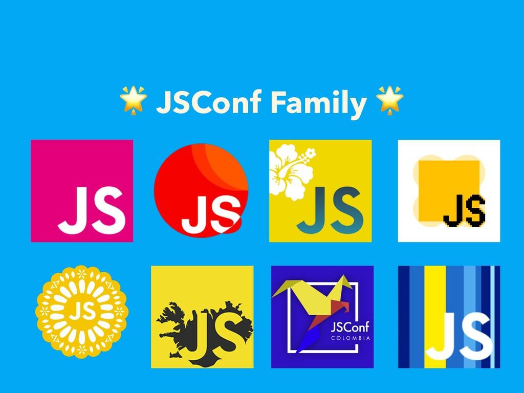 JSConf Family