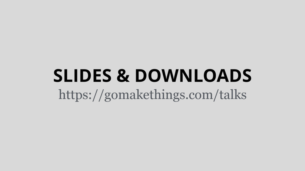 SLIDES & DOWNLOADS https://gomakethings.com/tal...