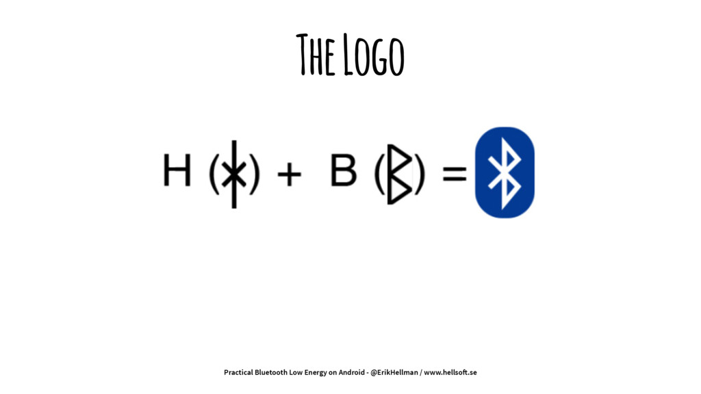 The Logo Practical Bluetooth Low Energy on Andr...