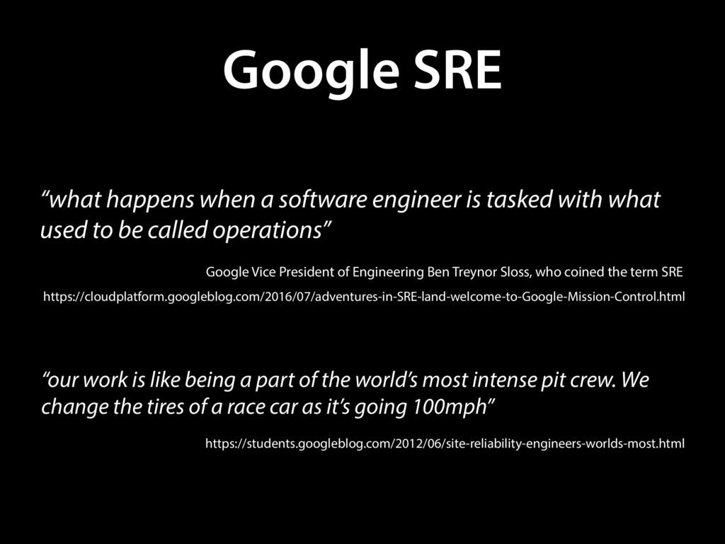 "Google SRE ""what happens when a software engine..."