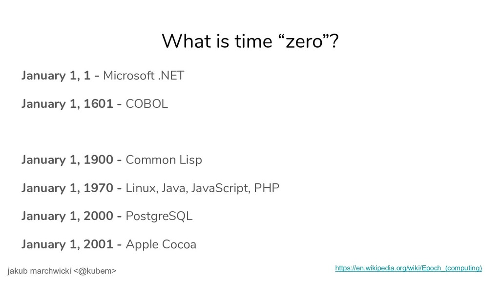 """What is time """"zero""""? January 1, 1 - Microsoft ...."""