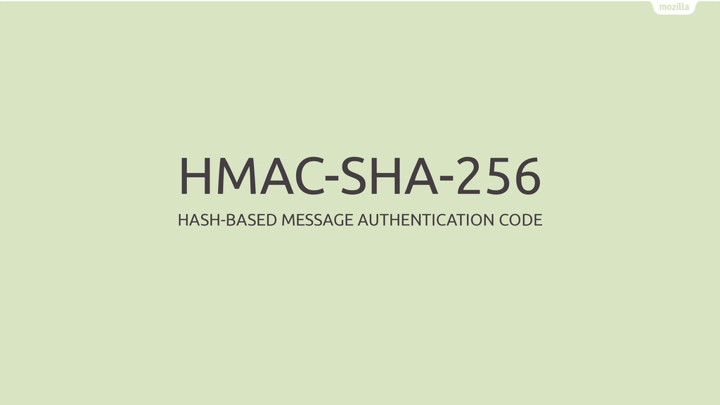 HMAC-SHA-256 HASH-BASED MESSAGE AUTHENTICATION ...
