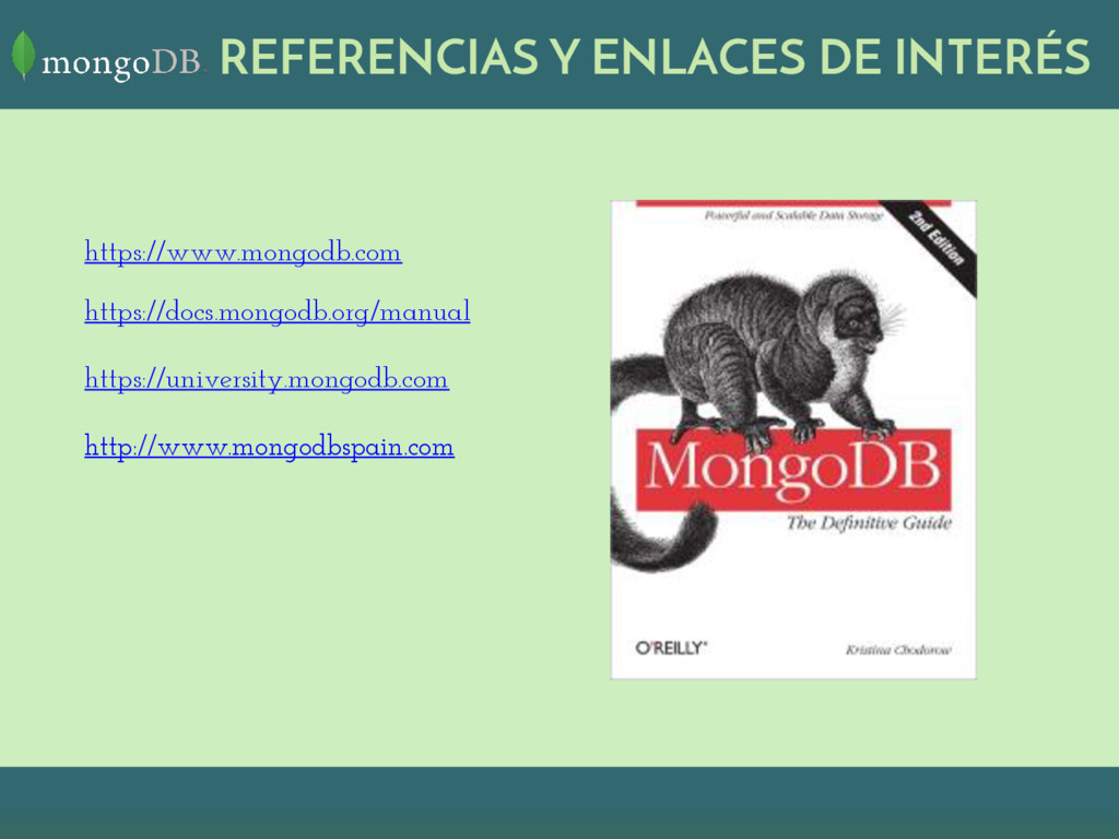 REFERENCIAS Y ENLACES DE INTERÉS https://www.mo...
