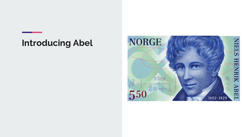 Introducing Abel