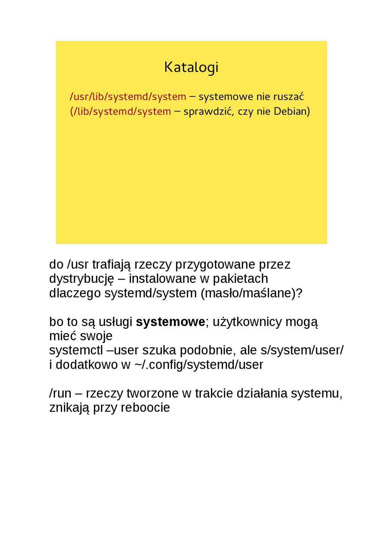 Katalogi /usr/lib/systemd/system – systemowe ni...