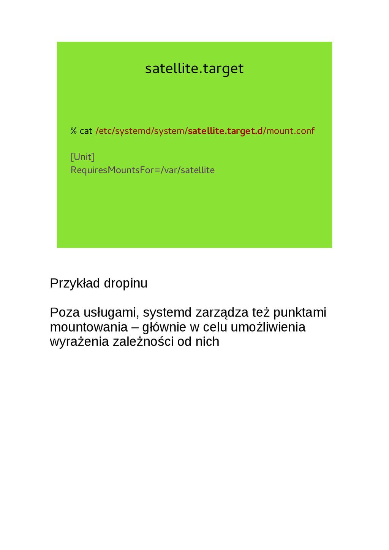 satellite.target % cat /etc/systemd/system/sate...