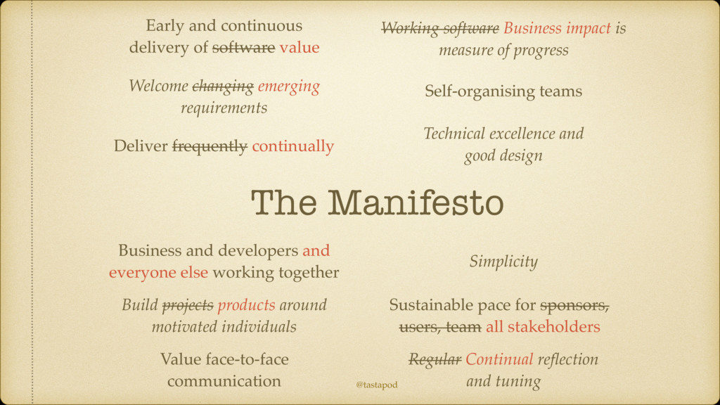 @tastapod The Manifesto Early and continuous de...