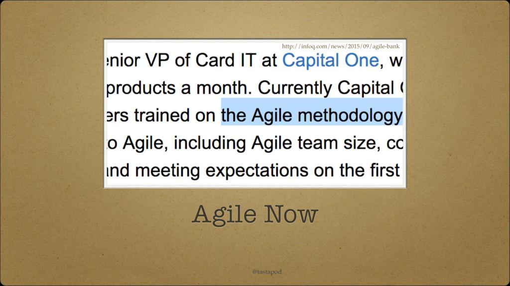@tastapod Agile Now http://infoq.com/news/2015/...