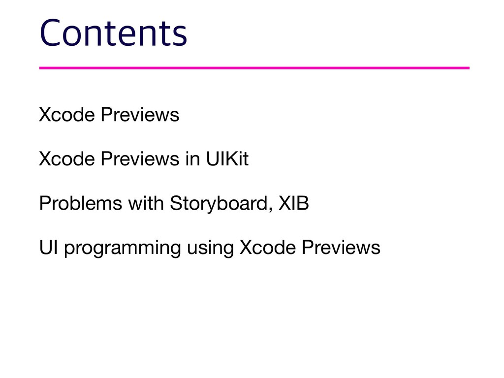 Xcode Previews  Xcode Previews in UIKit  Proble...