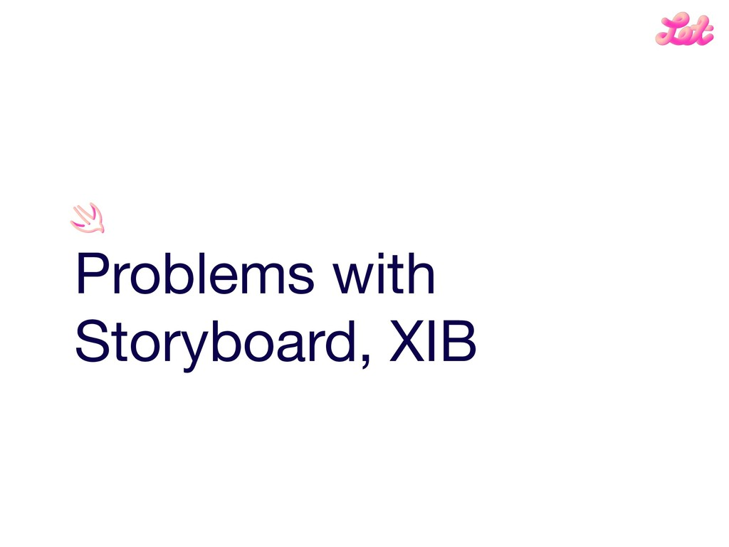 Problems with Storyboard, XIB
