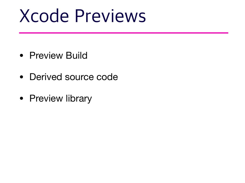 • Preview Build  • Derived source code  • Previ...