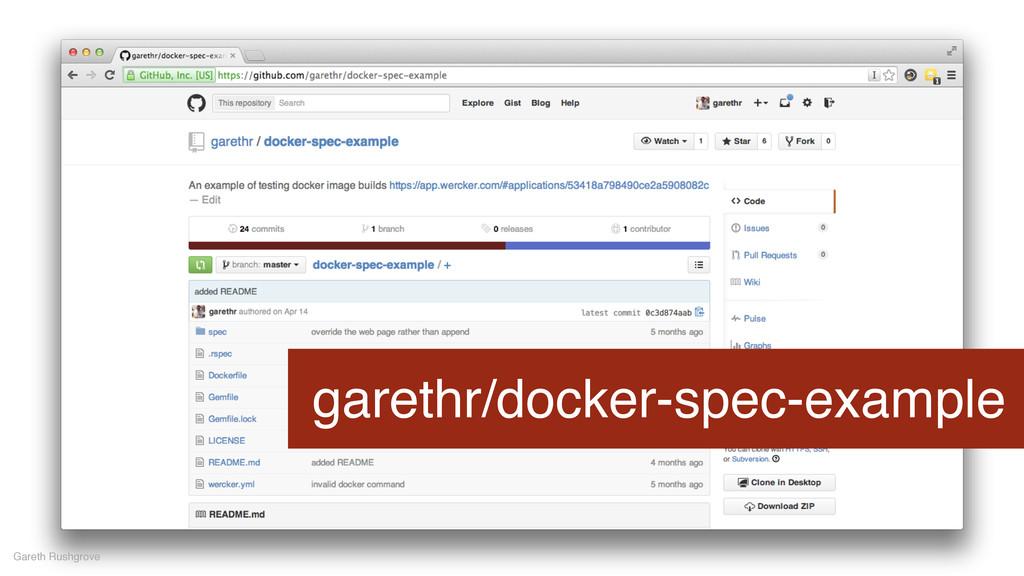 garethr/docker-spec-example Gareth Rushgrove