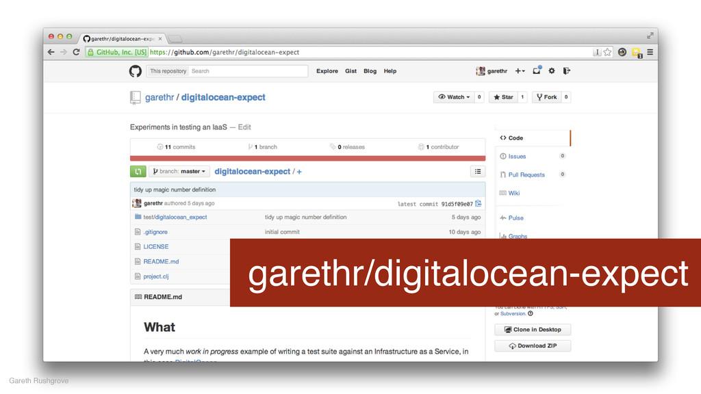 garethr/digitalocean-expect Gareth Rushgrove