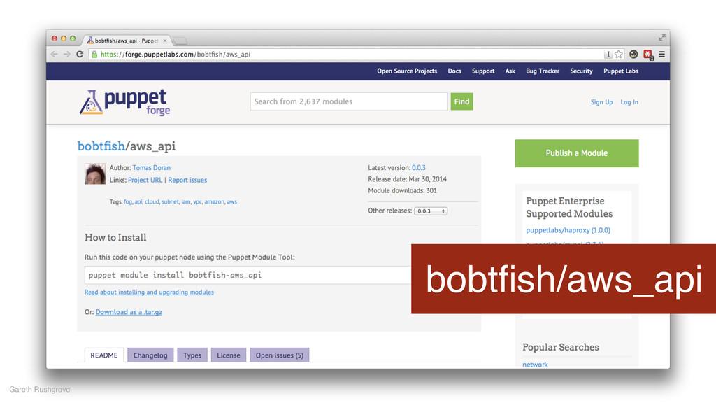 bobtfish/aws_api Gareth Rushgrove
