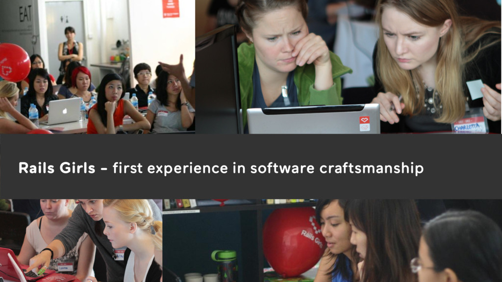 3 Rails Girls - first experience in software cr...