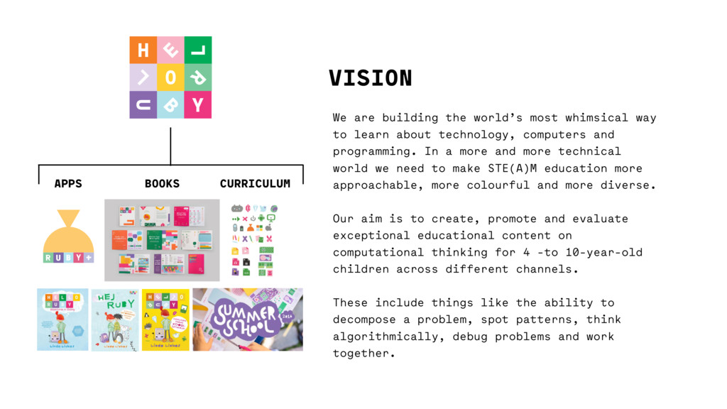 VISION We are building the world's most whimsic...