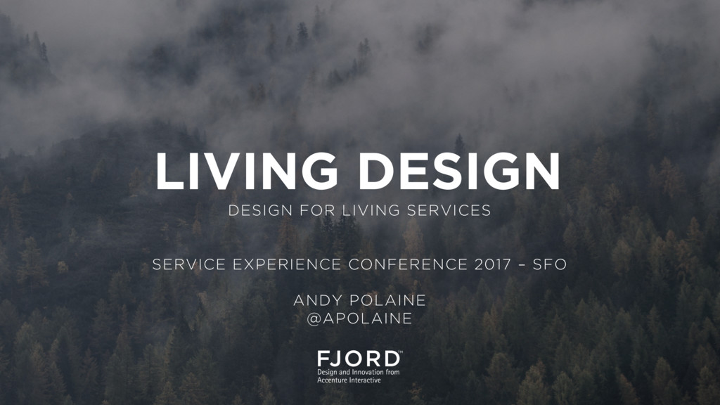 DESIGN FOR LIVING SERVICES SERVICE EXPERIENCE C...