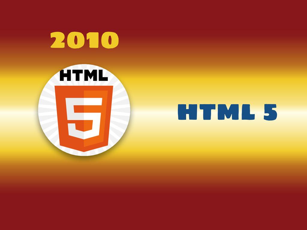 2010 html 5