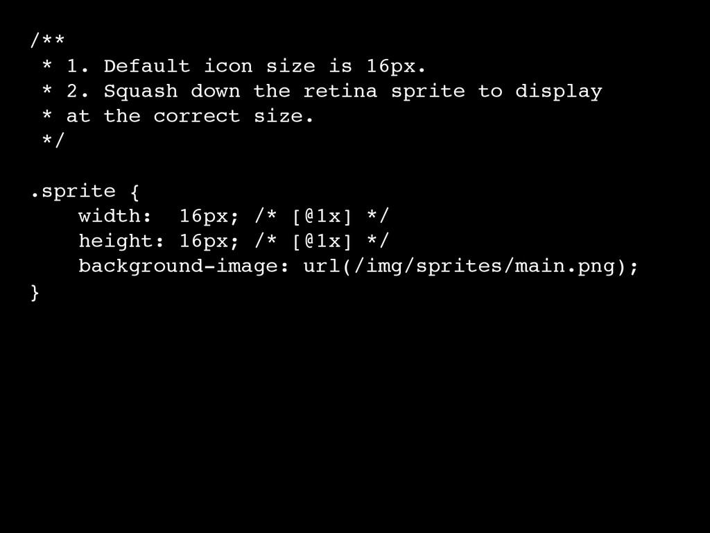 /**! * 1. Default icon size is 16px.! * 2. Squa...