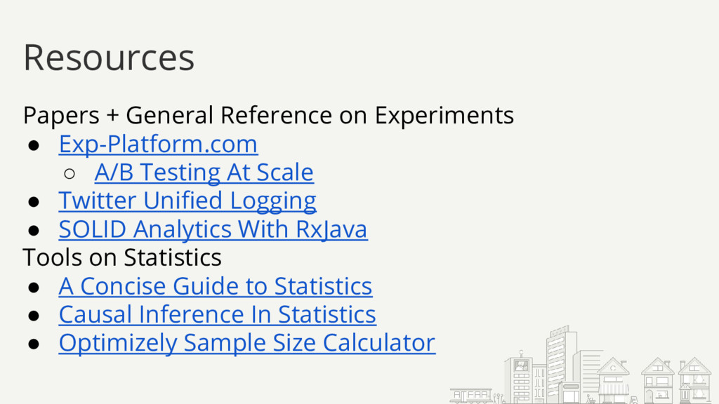 Papers + General Reference on Experiments ● Exp...