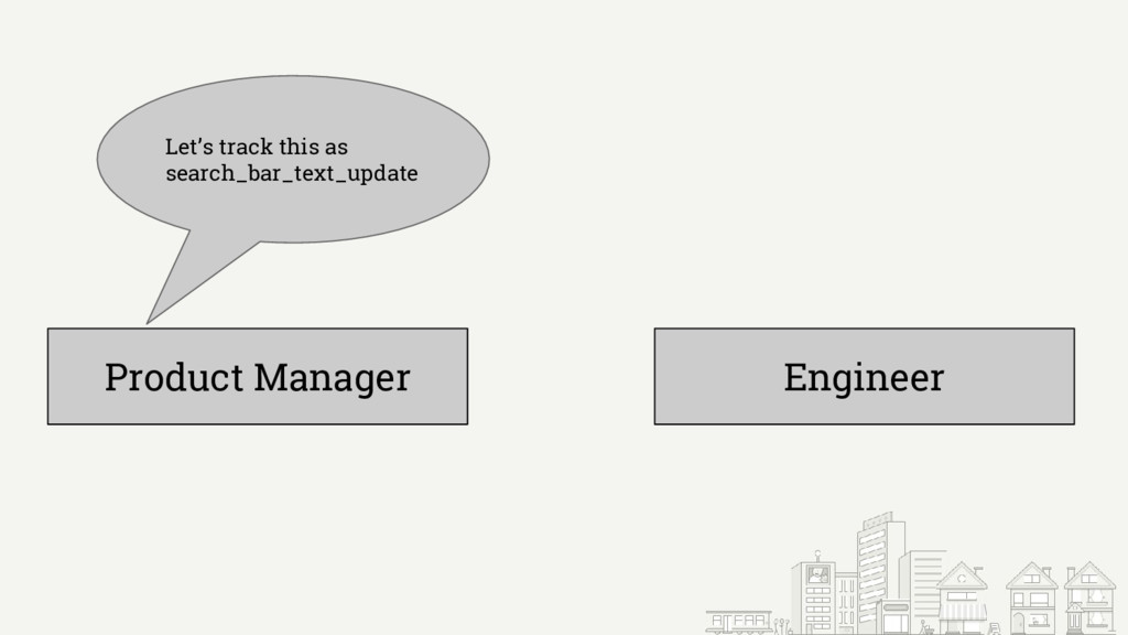 Product Manager Engineer Let's track this as se...